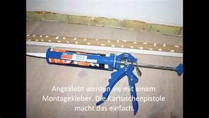 Fußleisten Zum Kleben : laminat sockelleisten kleben wohn design ~ Frokenaadalensverden.com Haus und Dekorationen