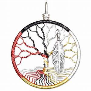 Medicine Wheel Tree of Life Pendant - MadamVonTrinket's