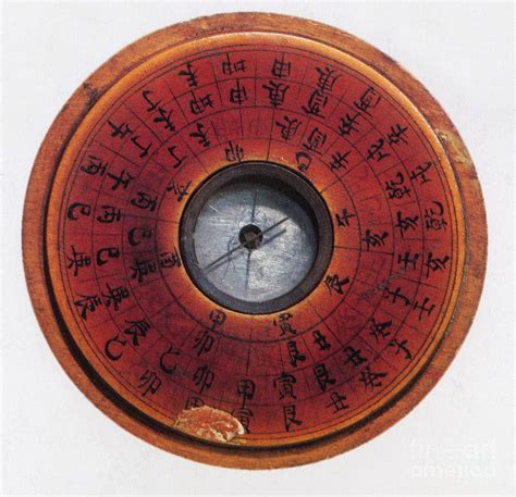 century wall compass photograph by science source