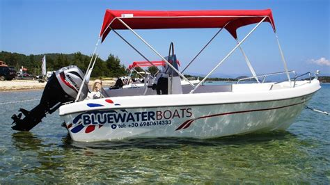 Boats Bluewater by Bluewater Boats Sithonia Greece