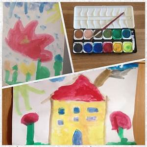 Malen Mit Wasserfarben : malen mit wasserfarben kreativ mit kind ~ Orissabook.com Haus und Dekorationen