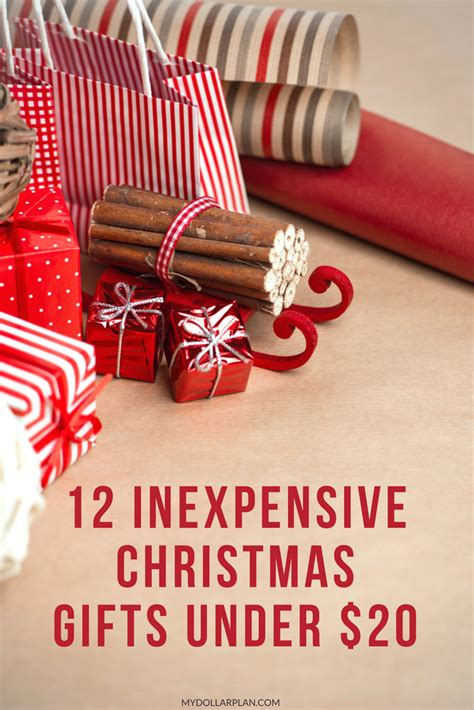 12 inexpensive christmas gifts under 20