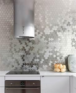 Kitchen design idea install a stainless steel backsplash for Metal tiles for kitchen backsplash