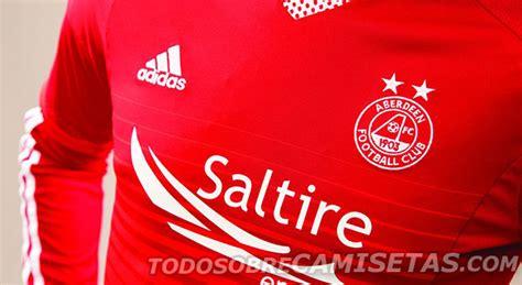Aberdeeen FC Adidas 15/16 Home Kit - Todo Sobre Camisetas