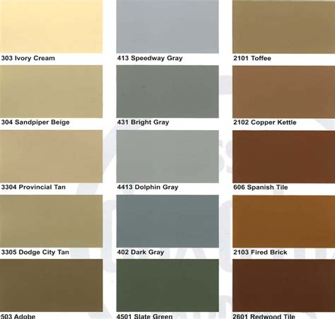 davies paint color chart paint color ideas