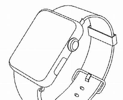 Apple Samsung Drawings Smartwatch Device Wearable Filing
