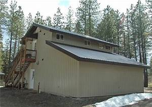Monitor Steel Building With Living Quarters