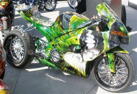 custom paint motorcycles add recessed custom painted motorcycle mike castiglione automotive