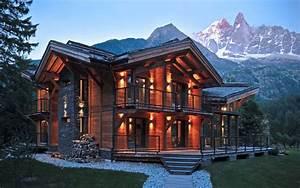 Fashion 4 Home : the modern house in the chalet style ideas for design ~ Orissabook.com Haus und Dekorationen