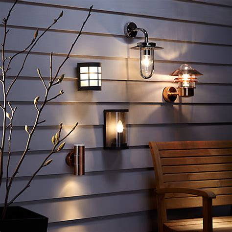 buy lewis sabrebeam outdoor wall light copper