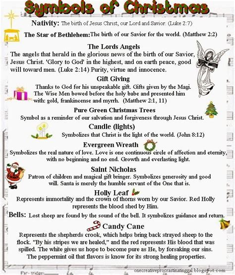 christmas symbols and meaning christmas cheer
