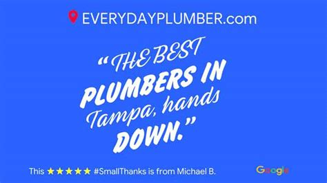tampa plumber reviews top rated plumbing comapny