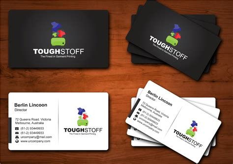 Business Card Design Contests » Toughstoff Stationery Business Card Design Software With Crack Holders Images Desk Holder Gold Free Web Templates Multiple Printing Plastic Myer Your Own Logo