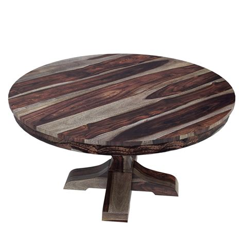 round wood pedestal dining table hosford handcrafted solid wood 60 quot round pedestal dining table