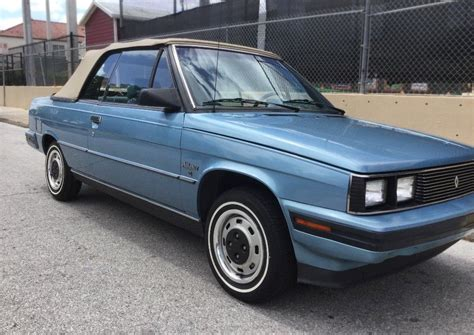 Florida Jewel: 1985 Renault Alliance Convertible