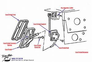 1969 Corvette Gas Pedal Parts