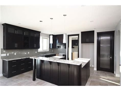 kitchen dark cabinets lighter grey walls reno home inspirations pinterest light gray