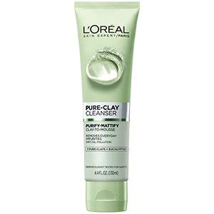 loreal eye and lip makeup remover purify and mattify eucalyptus cleanser for all skin