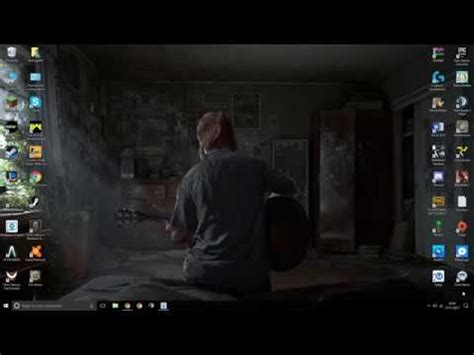 The Last Of Us Animated Wallpaper - animated windows 10 wallpaper ellie sings the last of us