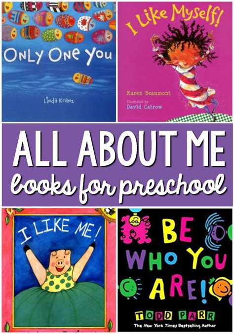 all about me books for preschool and kindergarten pre k 297 | All About Me Books for Preschool