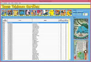 5 best images of printable pokemon checklist card list