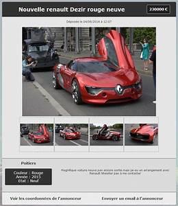 Site Annonce Auto : cr er un site de petites annonces gratuitement ~ Gottalentnigeria.com Avis de Voitures