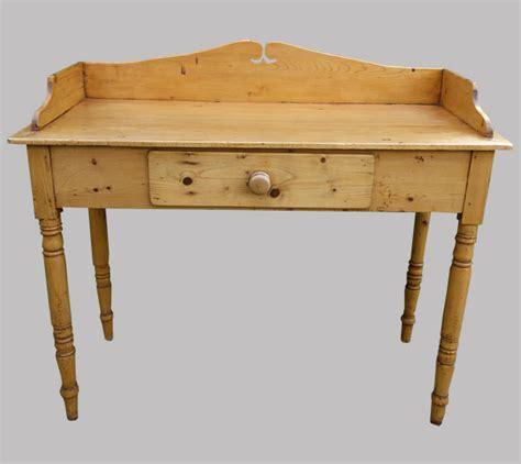 bureau ancien anglais en pin