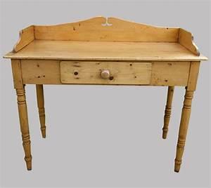Bureau En Pin : bureau ancien anglais en pin ~ Teatrodelosmanantiales.com Idées de Décoration