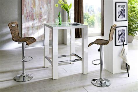 bartisch mit stühlen bartisch in wei 223 coole ideen archzine net