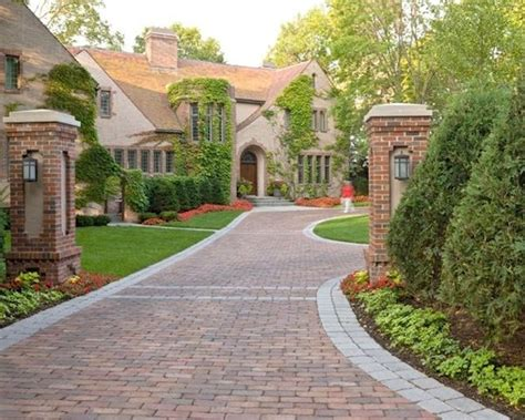 Curb Appeal  Brick Pavers, Driveway Ideas And Driveways