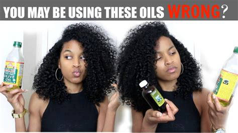 Sealing Oils Vs Moisturizing Oils (all Hair Types)|natural