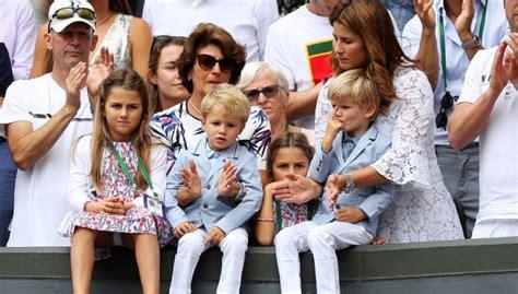 tennis today roger federers kids selling lemonade pam shrivers