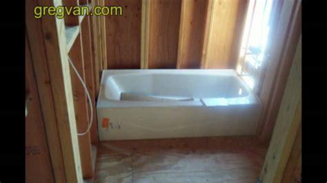 bathtub framing tip advanced carpentry techniques