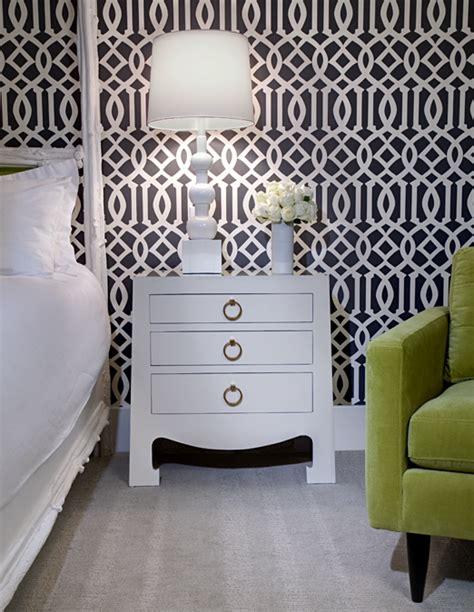 green trellis wallpaper design ideas