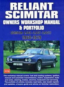 Reliant Scimitar 1968 1979 Workshop Manual Portfolio