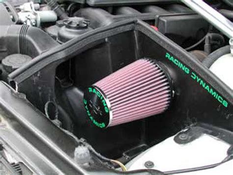 Bmw Cold Air Intake by Cold Air Intake For Bmw 325i E46 2000 On With Intregal