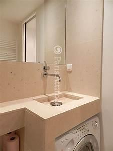 louer un appartement a paris 75013 27m2 gobelins ref 9504 With porte d entrée pvc avec lave linge sous vasque salle de bain