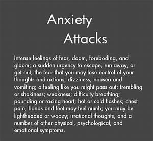Anxiety/Panic Attack Symptoms #anxiety #panicatacks # ...