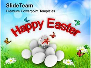 Easter Egg Bunny Happy Day Religious Festival Powerpoint