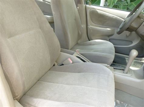 Toyota Corolla 19982002 Vinyl Custom Seat Cover Ebay