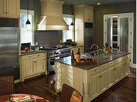 colored kitchen cabinets Cream Kitchen Cabinets: Trends Furniture with A Soft Color