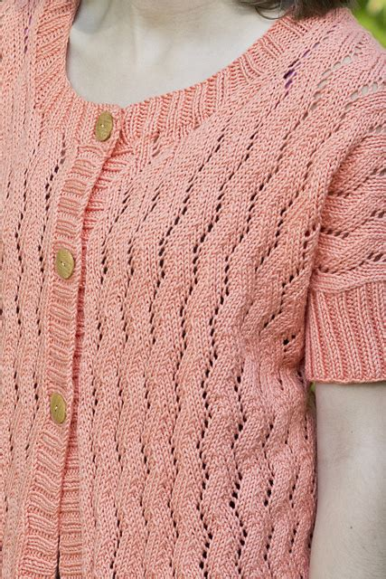 Go To Topper Free Summer Cardi Knit Pattern ⋆ Knitting Bee