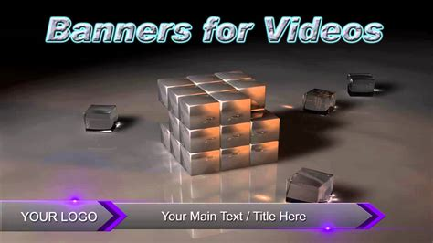 Adobe After Effects Banner Templates after effects template colouref banner free after