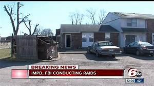 IMPD, FBI conducting multiple raids across Indianapolis ...
