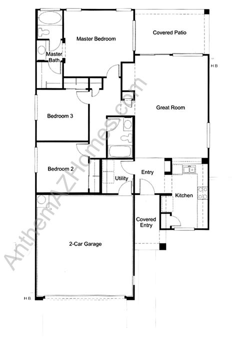 Floor Anthem by Engle Homes Floor Plans Anthem Home Photo Style