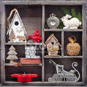 Christmas Toys IN Vintage Wooden Christmas Stock s