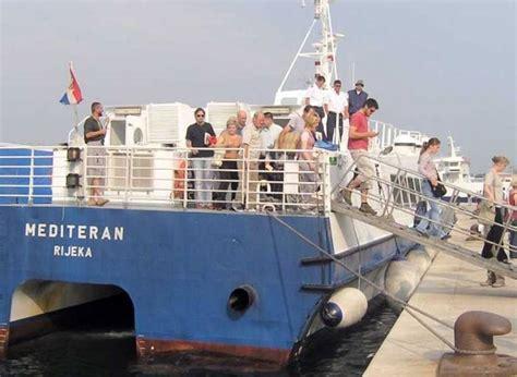 Catamaran Zadar Sali by Saljani čekaju Na Quot Krilo Quot Vijesti 057info Zadar