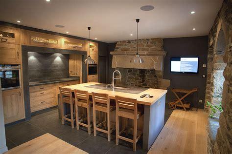 cuisine dans maison ancienne constructions extension ou r 233 novations de maisons 224 plougasnou
