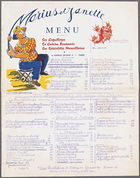 saumon cuisine a quoi ressemblaient les menus de restaurants au siècle