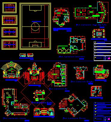 family resort  dwg design block  autocad designs cad